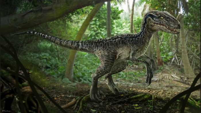 Velociraptor New Jurassic World Concept Art