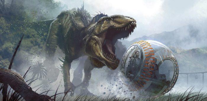 Indominus Rex New Jurassic World Concept Art