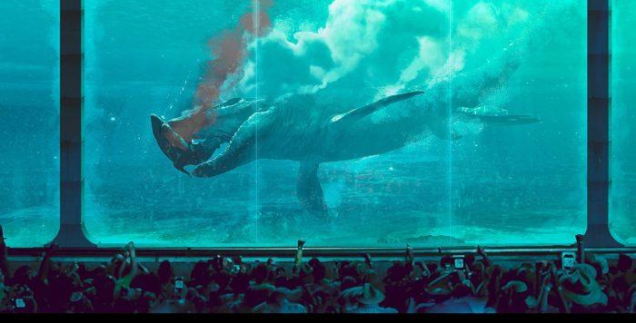 Mosasaurus New Jurassic World Concept Art