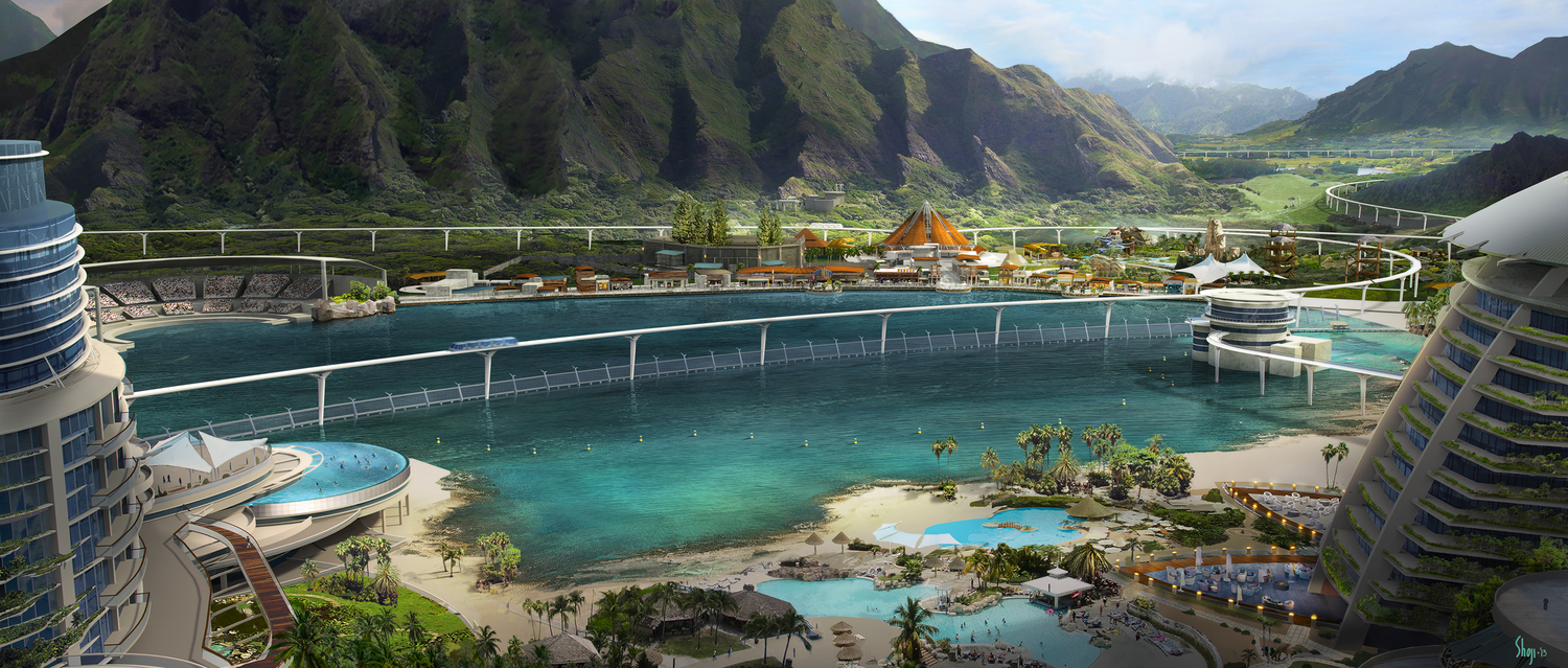 Jurassic World Concept Art