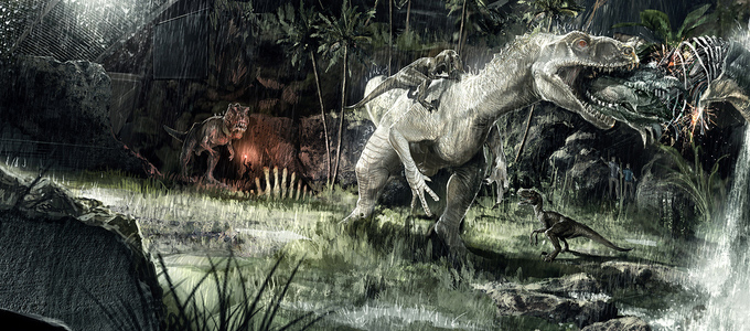 <h2>Jurassic World Concept Art From Gadget-Bot</h2><span class='featuredexcerpt'>Some cracking Jurassic World concept art has been published by concept studio Gadget-Bot showing various environments from the movie. We have a look at the Indominus Rex in [&hellip;]</span>