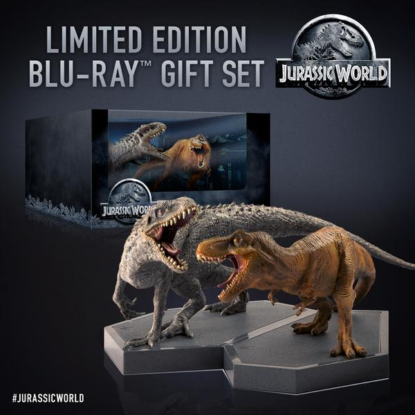 jurassic-world-blu-ray-140357 Limited Edition Jurassic World Blu-Ray Set Revealed
