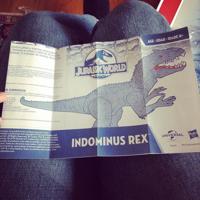 ir11 Toy Review: Electronic Indominus Rex by Hasbro