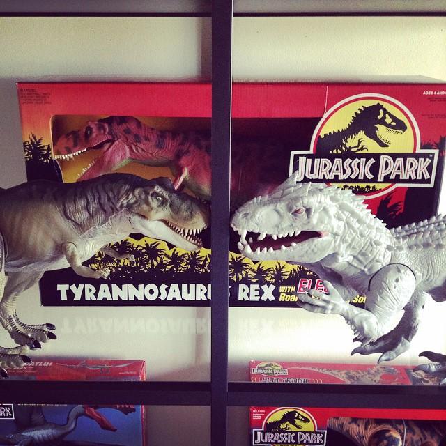 8x Jurassic World Dinosaurs Brick Blocks Indominus Rex T Pteranodon Raptor Dinosaur Toy Building