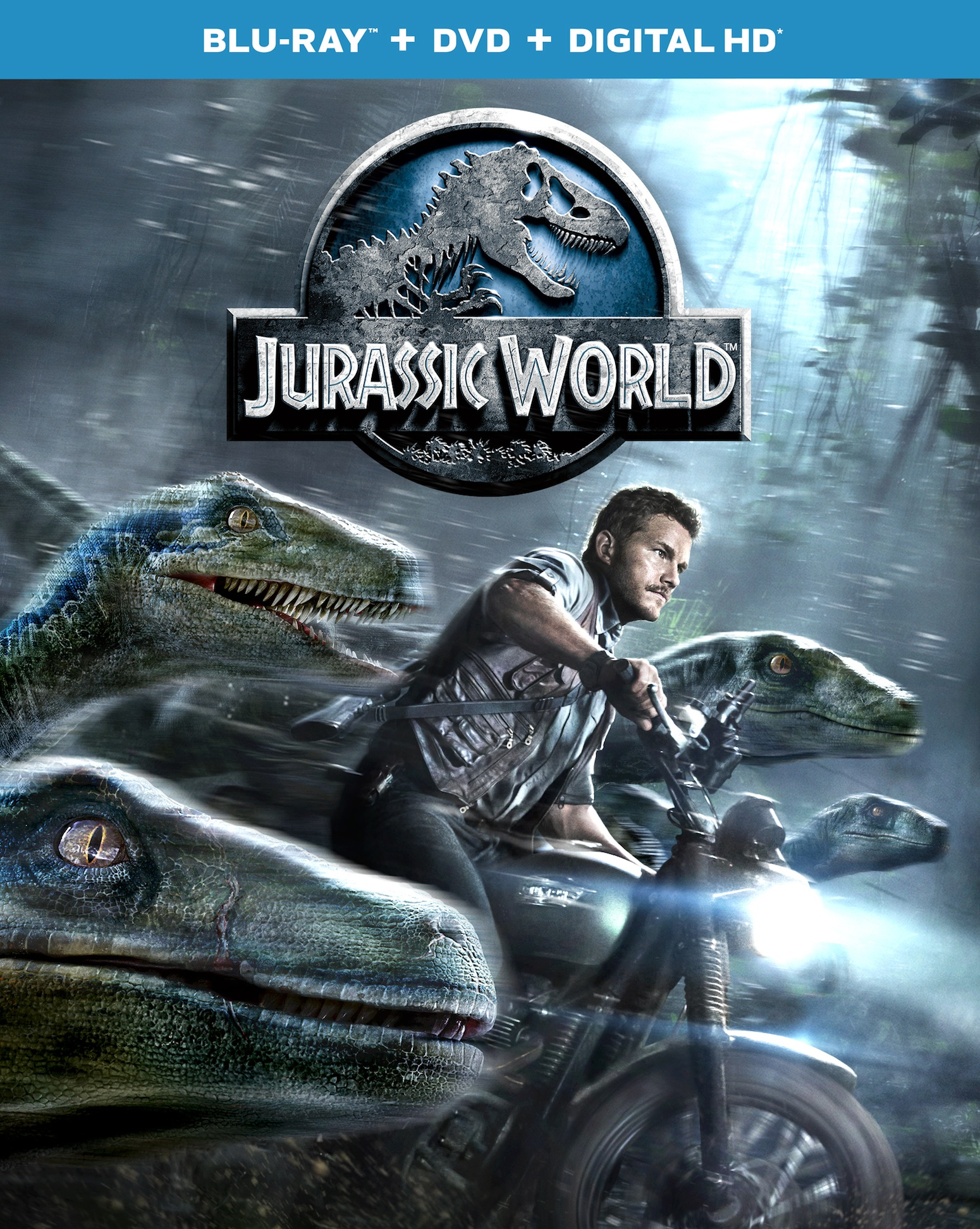 JW-BD-Combo_2D_R4 Jurassic World Blu-Ray Art & Special Features
