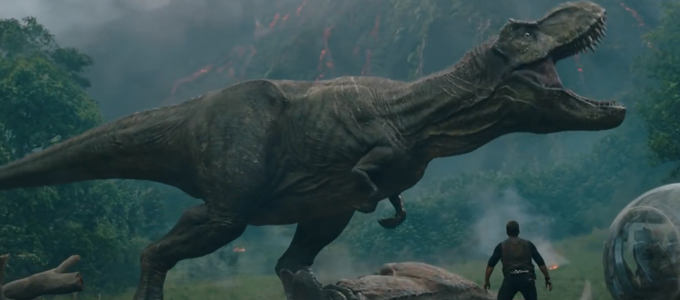 <h2>Jurassic World: Fallen Kingdom Trailer!</h2><span class='featuredexcerpt'>Universal Pictures have released the first trailer for the upcoming movie Jurassic World: Fallen Kingdom! Chris Pratt and Bryce Dallas Howard reprise their roles as Owen and Claire [&hellip;]</span>