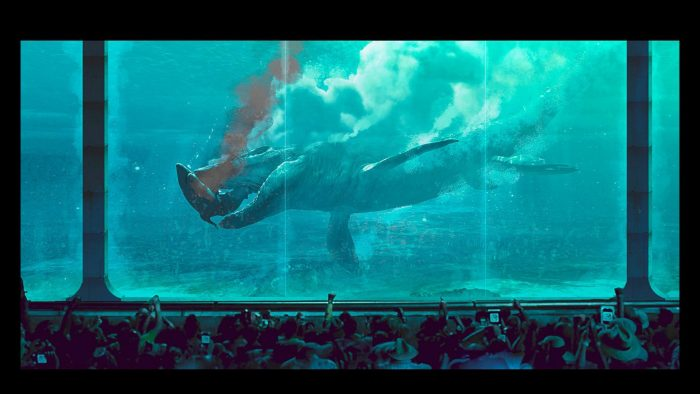 New Jurassic World Concept Art
