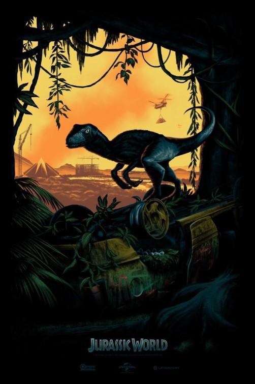 Jurassic World Comic-Con Poster!