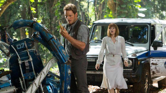 Two New Jurassic World Production Stills